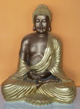 Buddha-thai-meditalo-43-cm-bronz-arany