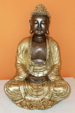 Buddha-thai-meditalo-35-cm-bronz-arany