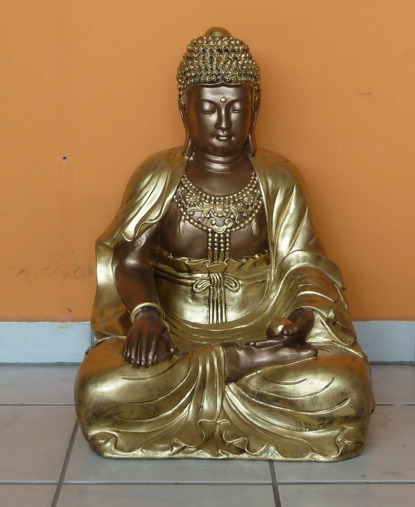 Buddha-thai-lotuszulesben-60-cm-bronz-arany