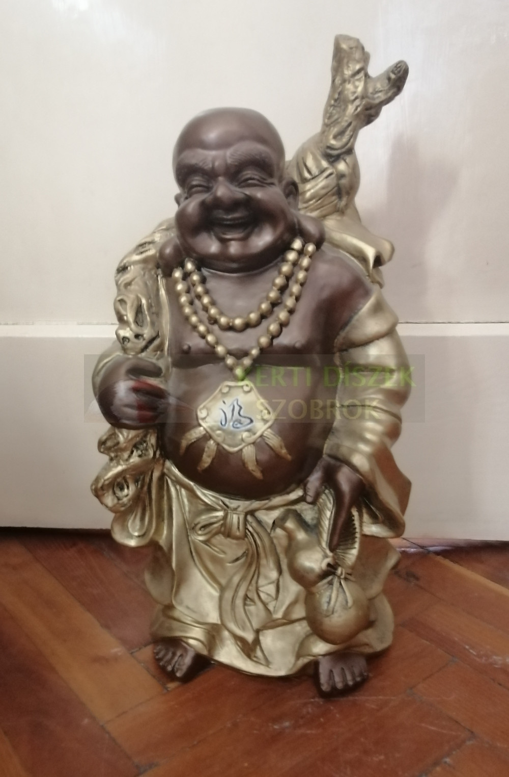 Buddha-kinai-vandor-bronz-arany-szines