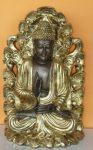 Buddha-Thai-tanito-lotuszviragon-bronz-arany