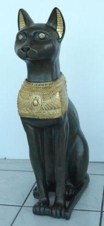 Macska-Básztet-70cm/fa