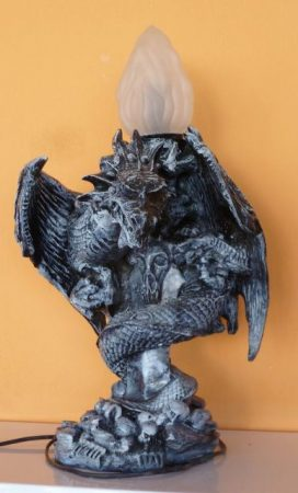 Asztali lámpa-Sárkánykígyó/43 cm