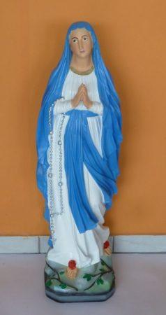 Szűz Mária-Lourdes Madonna/100cm/színes/AR-N75