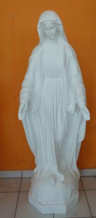 Szűz Mária-Szeplőtlen Istenanya/150cm/fehér