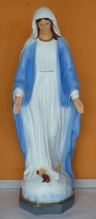 Szűz Mária-Szeplőtlen Istenanya/150cm/színes