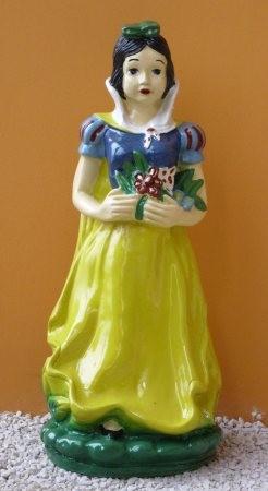 Hófehérke-50cm-virággal/sárga ruhás