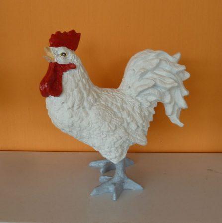 Kakas- 33cm-nyitott csőrrel/fehér