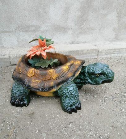 Teknős-14cm-virágtartó
