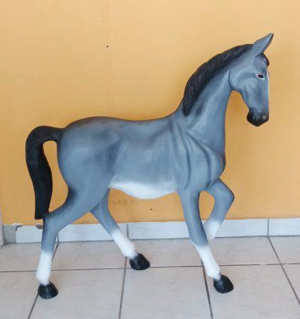 Ló- 92 cm-szürke