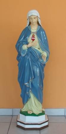 Szűz Mária-Szívére mutató/110cm