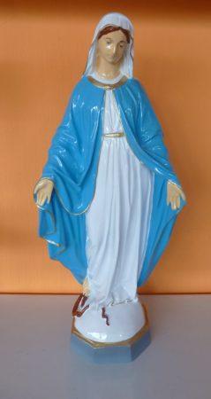 Szűz Mária-Szeplőtlen Istenanya/ 60cm/világos kék köpenyben