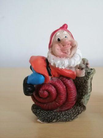 Kerti törpe-  6cm-mini-csigán