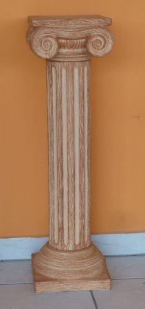 Keramia-Oszlop-csigavonalas-diszites-gorog/K-09-terrakotta