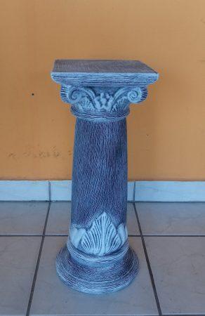 Kerámia-Oszlop-római motívummal/K-10/terrakotta