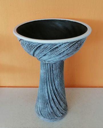 Kerámia-Oszlop-normál mini/mini tál-kék