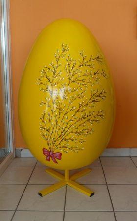 Húsvéti tojás-122cm-barkás
