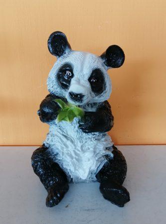 Panda- 33cm-Bambusz levéllel